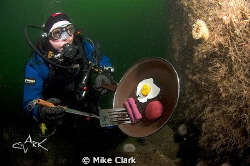 Underwater Technical BBq by Mike Clark 